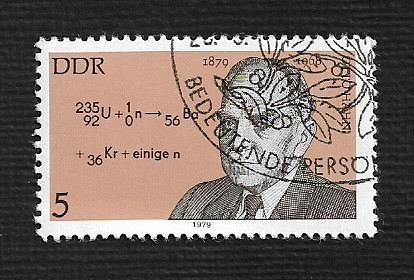 Germany DDR Used Scott #1994 Catalog Value $.25