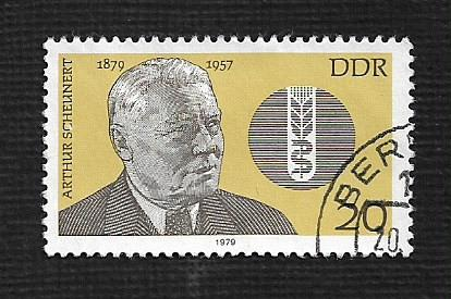 Germany DDR Used Scott #1996 Catalog Value $.25