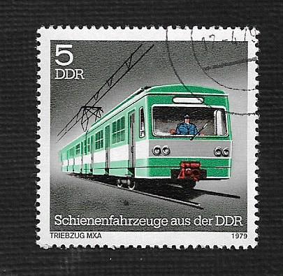 Germany DDR Used Scott #2001 Catalog Value $.25
