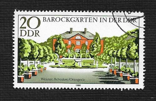 Germany DDR Used Scott #2068 Catalog Value $.25
