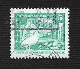 Germany DDR Used Scott #2071 Catalog Value $.25