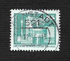 Germany DDR Used Scott #2075 Catalog Value $.30