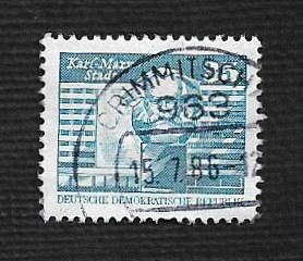 Germany DDR Used Scott #2077 Catalog Value $.30