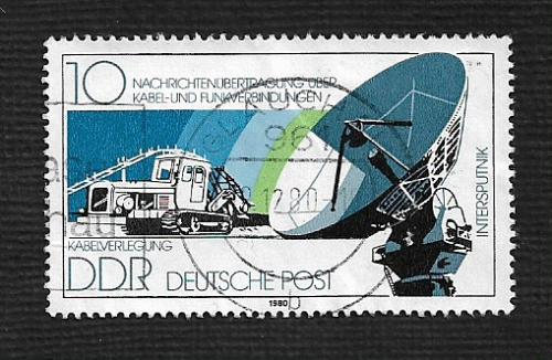 Germany DDR Used Scott #2086 Catalog Value $.25