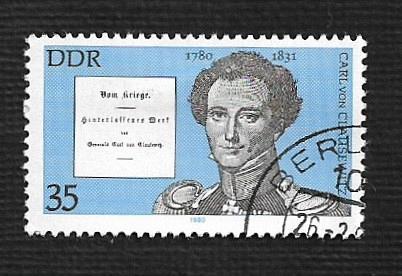 Germany DDR Used Scott #2092 Catalog Value $.25