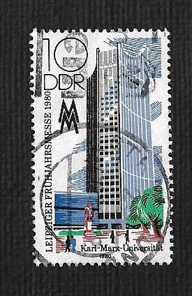 Germany DDR Used Scott #2094 Catalog Value $.25