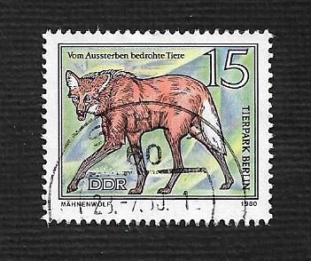 German DDR Used Scott #2115 Catalog Value $.25