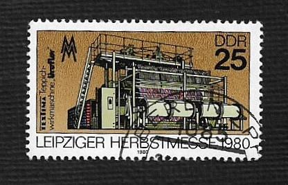 German DDR Used Scott #2130 Catalog Value $.25