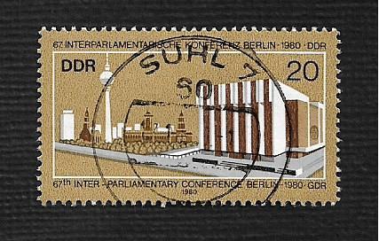 German DDR Used Scott #2131 Catalog Value $.25