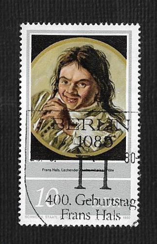 German DDR Used Scott #2132 Catalog Value $.25