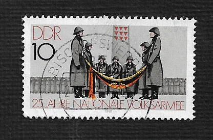 Germany DDR Used Scott #2158 Catalog Value $.25