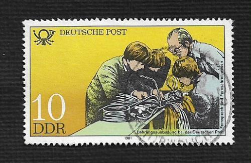 Germany DDR Used Scott #2162 Catalog Value $.25