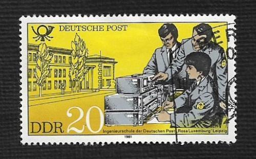 Germany DDR Used Scott #2164 Catalog Value $.25