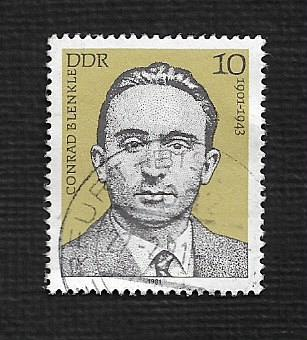 Germany DDR Used Scott #2167 Catalog Value $.25