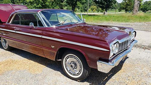 1964 Chevrolet Impala SS Hardtop For Sale in Baltimore, Maryland 21202
