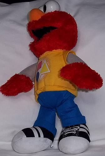 Sesame Street Hashbrow Elmo plush doll