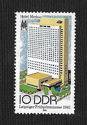 German DDR Hinged NG Scott #2170 Catalog Value $.25