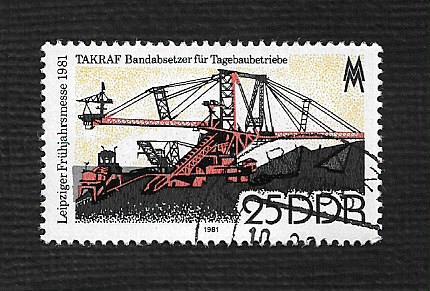 Germany DDR Used Scott #2171 Catalog Value $.25