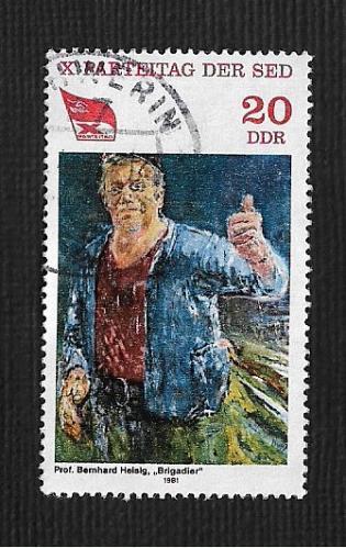 Germany DDR Used Scott #2173 Catalog Value $.25