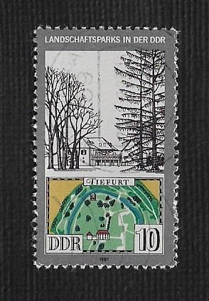 Germany DDR Used Scott #2188 Catalog Value $.25