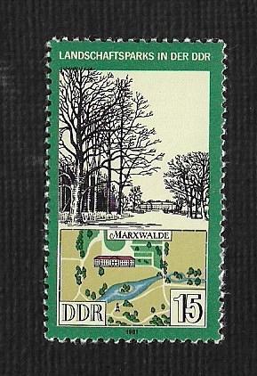 German DDR MNH Scott #2189 Catalog Value $.25