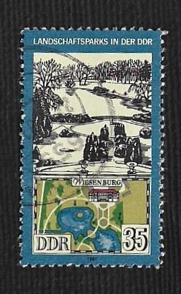 Germany DDR Used Scott #2192 Catalog Value $.25