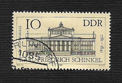 Germany DDR Used Scott #2197 Catalog Value $.25