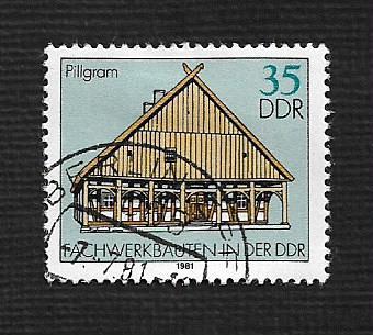 Germany DDR Used Scott #2202 Catalog Value $.25