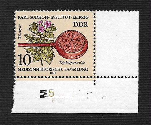 German DDR MNH Scott #2213 Catalog Value $.25
