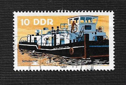Germany DDR Used Scott #2221 Catalog Value $.25