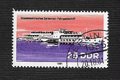 Germany DDR Used Scott #2223 Catalog Value $.25