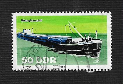 Germany DDR Used Scott #2225 Catalog Value $.25