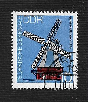 Germany DDR Used Scott #2227 Catalog Value $.25