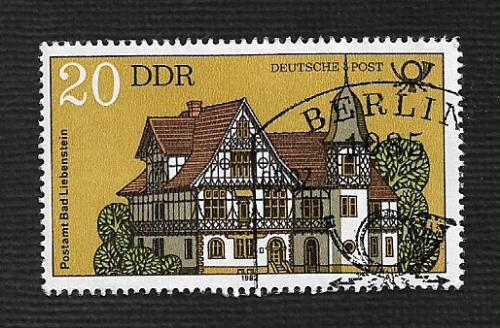 Germany DDR Used Scott #2237 Catalog Value $.25