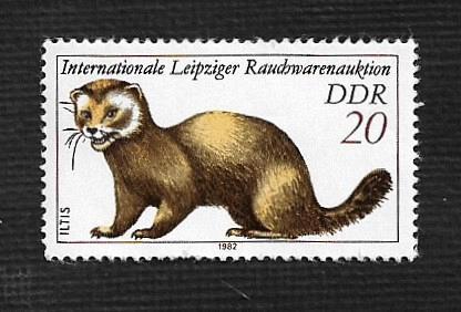 German DDR MNH Scott #2242 Catalog Value $.25