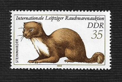 German DDR MNH Scott #2244 Catalog Value $1.00