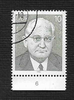 Germany DDR Used Scott #2253 Catalog Value $.25
