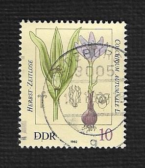 Germany DDR Used Scott #2254 Catalog Value $.25