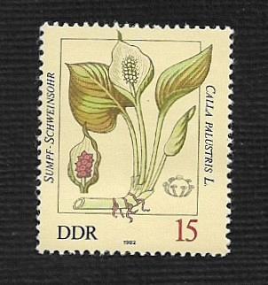 German DDR MNH Scott #2255 Catalog Value $.25