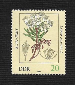 German DDR MNH Scott #2256 Catalog Value $.25