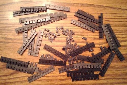 Lot of 476: Keltron MJ-5.97-G-F-1 Mini-Jumper Shunts :: FREE Shipping