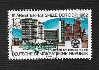 Germany DDR Used Scott #2269 Catalog Value $.25