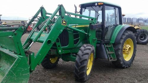 2013 John Deere 7130 Tractor For Sale in Magrath, Alberta Canada T0K1J0