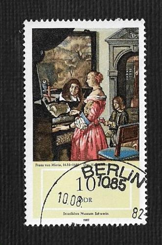 Germany DDR Used Scott #2285 Catalog Value $.25