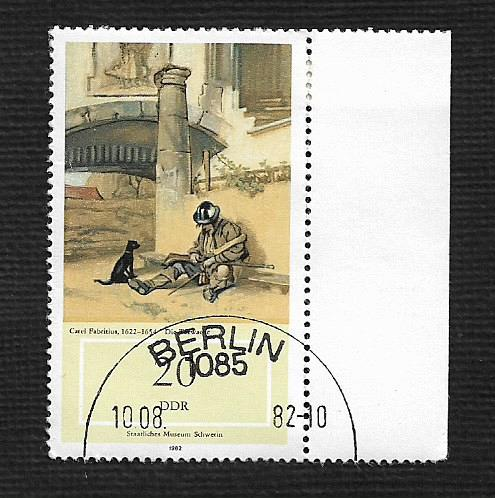Germany DDR Used Scott #2286 Catalog Value $.25