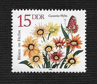 German DDR MNH Scott #2297 Catalog Value $.25