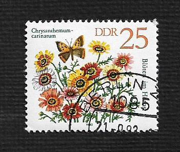 Germany DDR Used Scott #2299 Catalog Value $.25