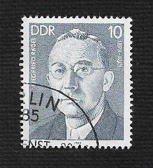 Germany DDR Used Scott #2318 Catalog Value $.25