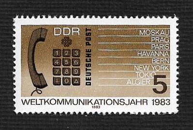German DDR MNH Scott #2319 Catalog Value $.25