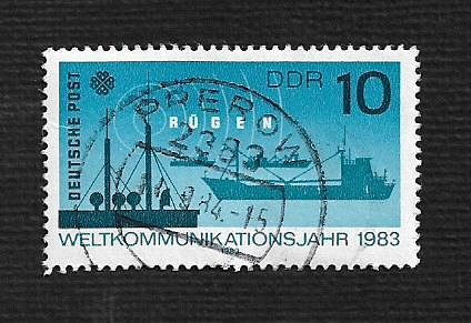 Germany DDR Used Scott #2320 Catalog Value $.25